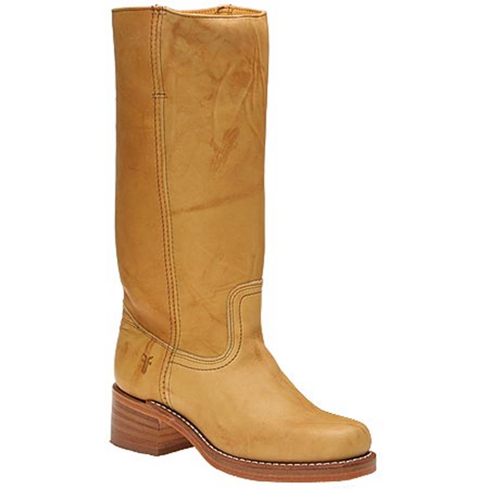 "Frye Women's Campus 14L 14"" Yellow Boot 6.5 M"