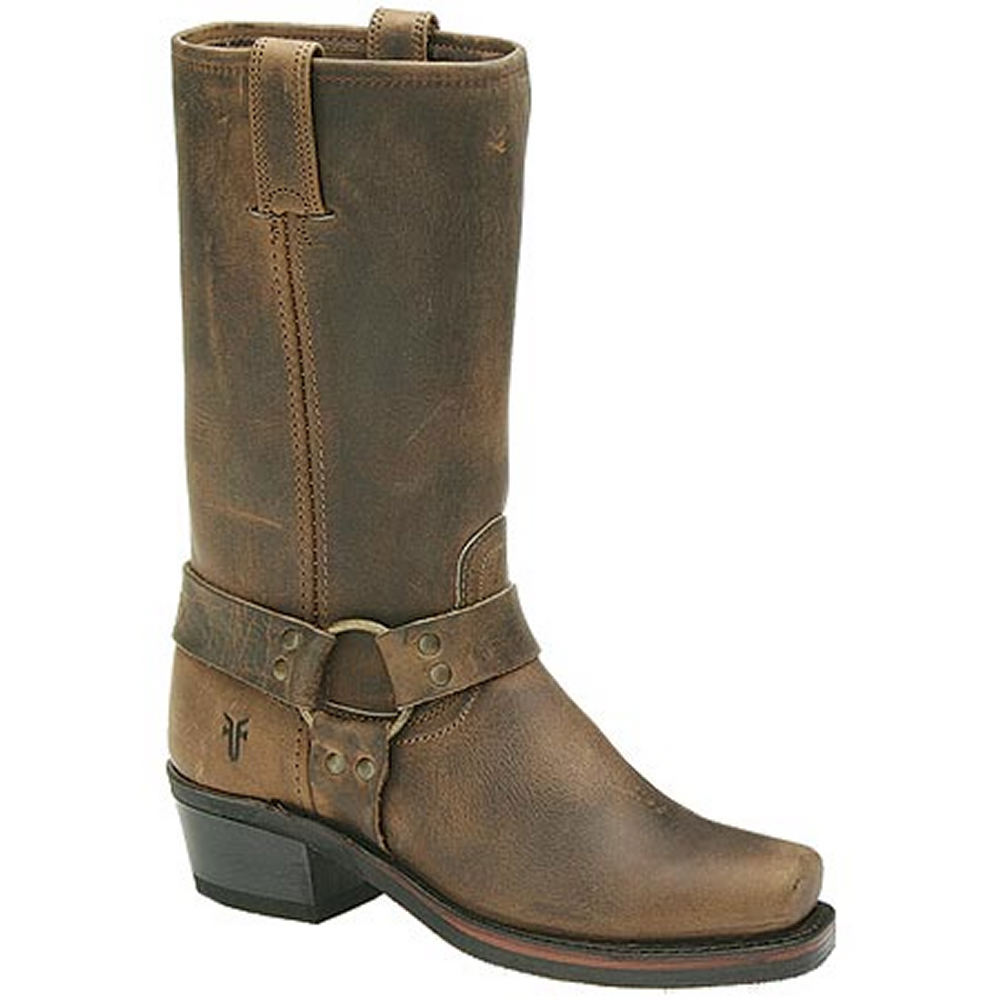 """Frye Women's Harness 12R 12"""" Tan Boot 6 M"""