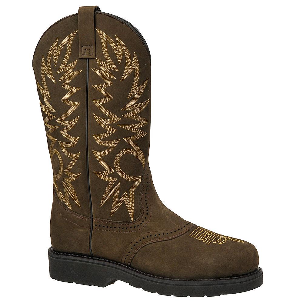 Western Work Men's WO8 Brown Boot 11 E4