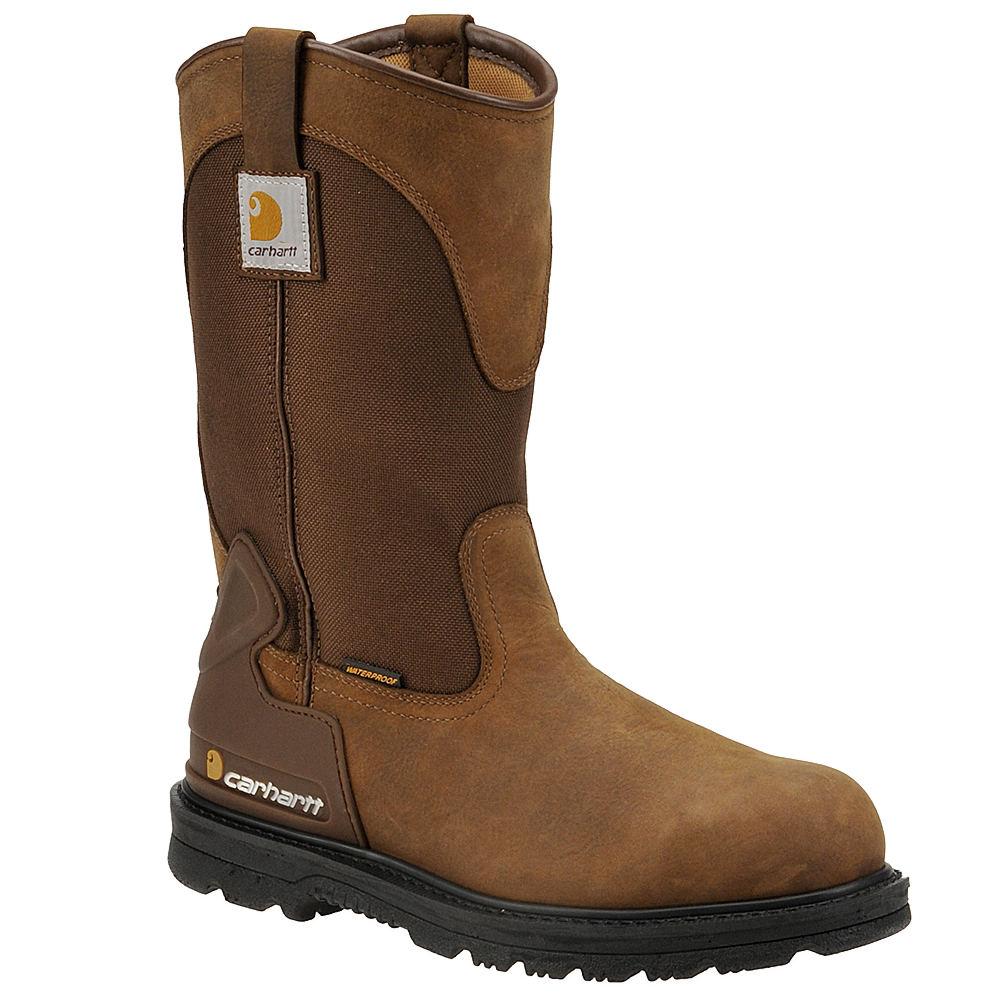 """Carhartt 11"""" Wellington Men's Brown Boot 13 M"""