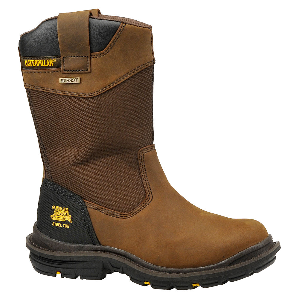 Caterpillar Men's Grist Steel Toe Brown,Tan Boot 8 W