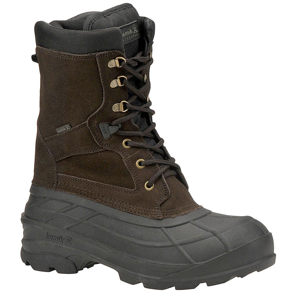 Kamik Men's Nationplus Brown Boot 9 M