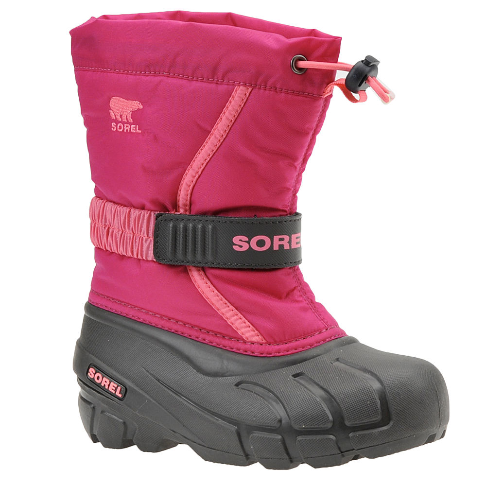 Sorel Flurry TP Girls' Toddler-Youth Pink Boot 11 Toddler M