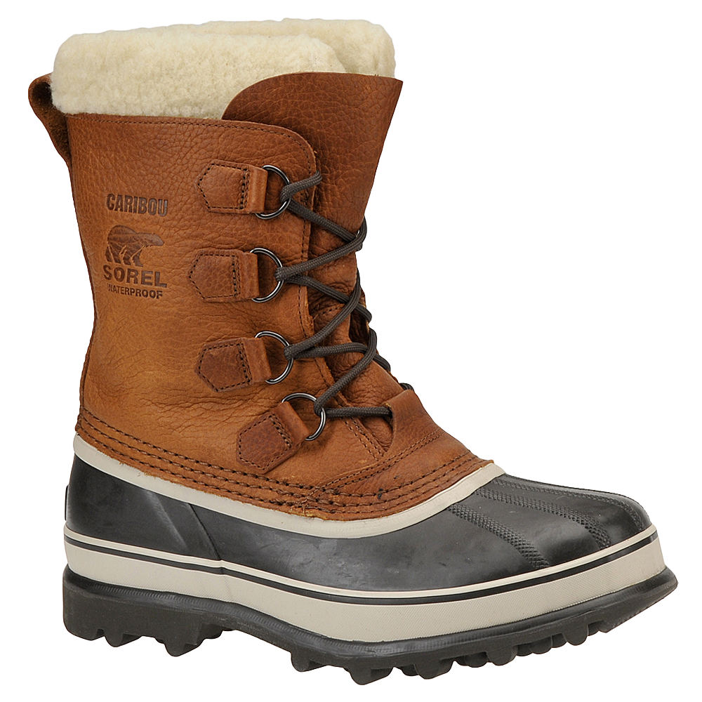 Sorel CARIBOU WL Men's Brown Boot 8 M 628116TOB080M