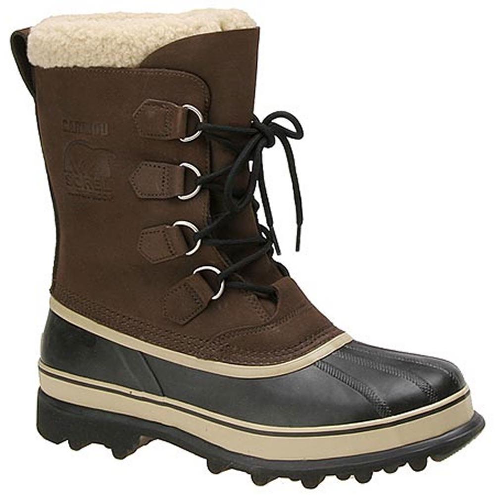 """Sorel Men's Caribou 10"""" Brown Boot 11 M"""