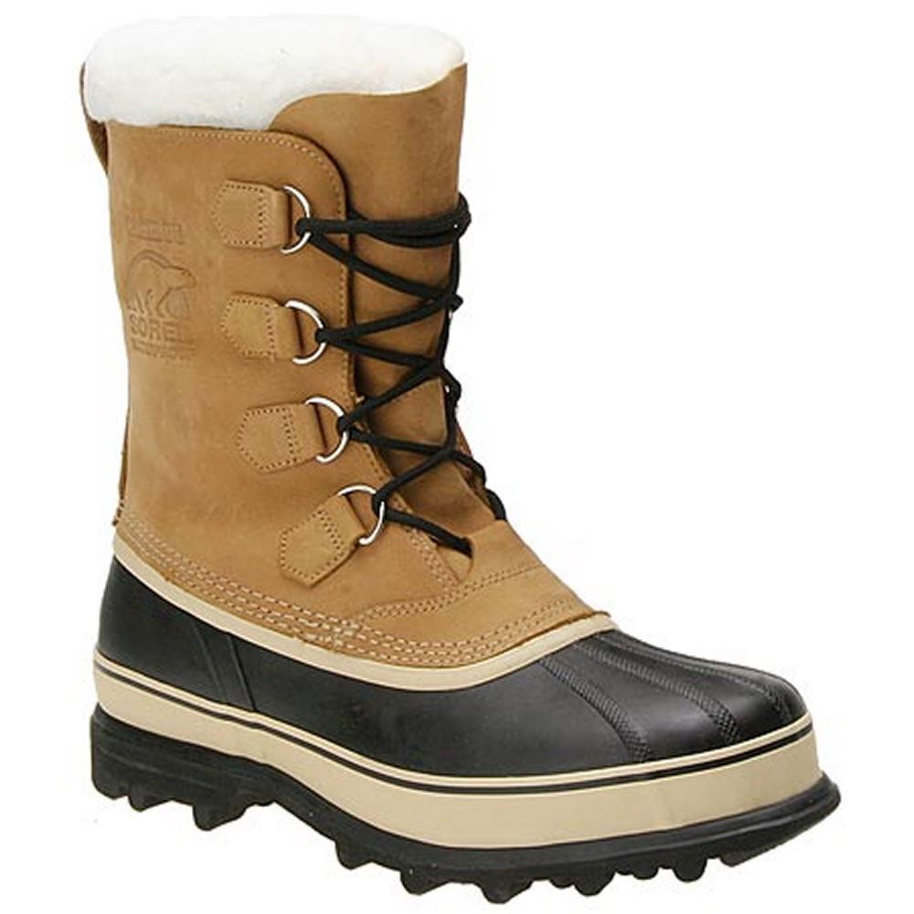 """Sorel Men's Caribou 10"""" Bone Boot 10 M"""