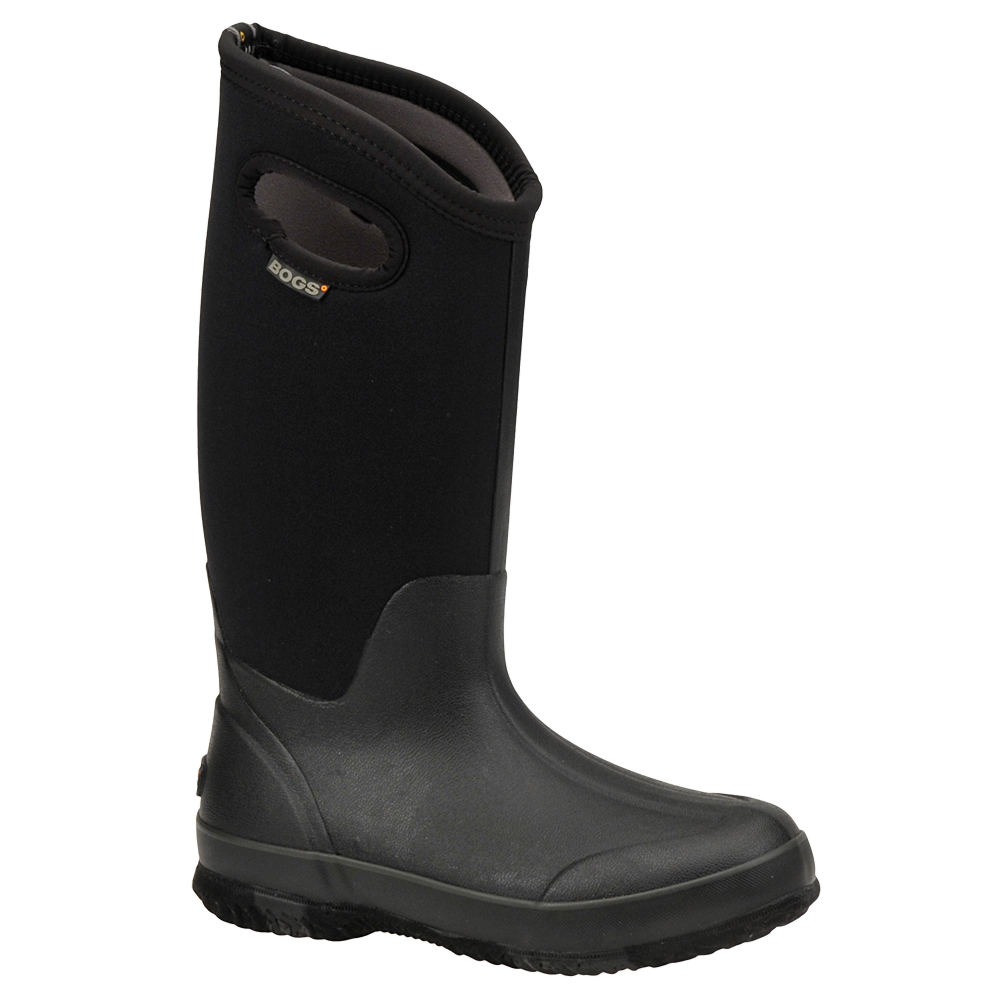 Bogs Women's Classic High Solid Black Boot 6 M 192382BLK060M