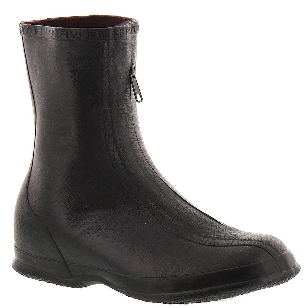 """SERVUS Men's 10"""" Rubber Overshoe Black Boot 8 D"""