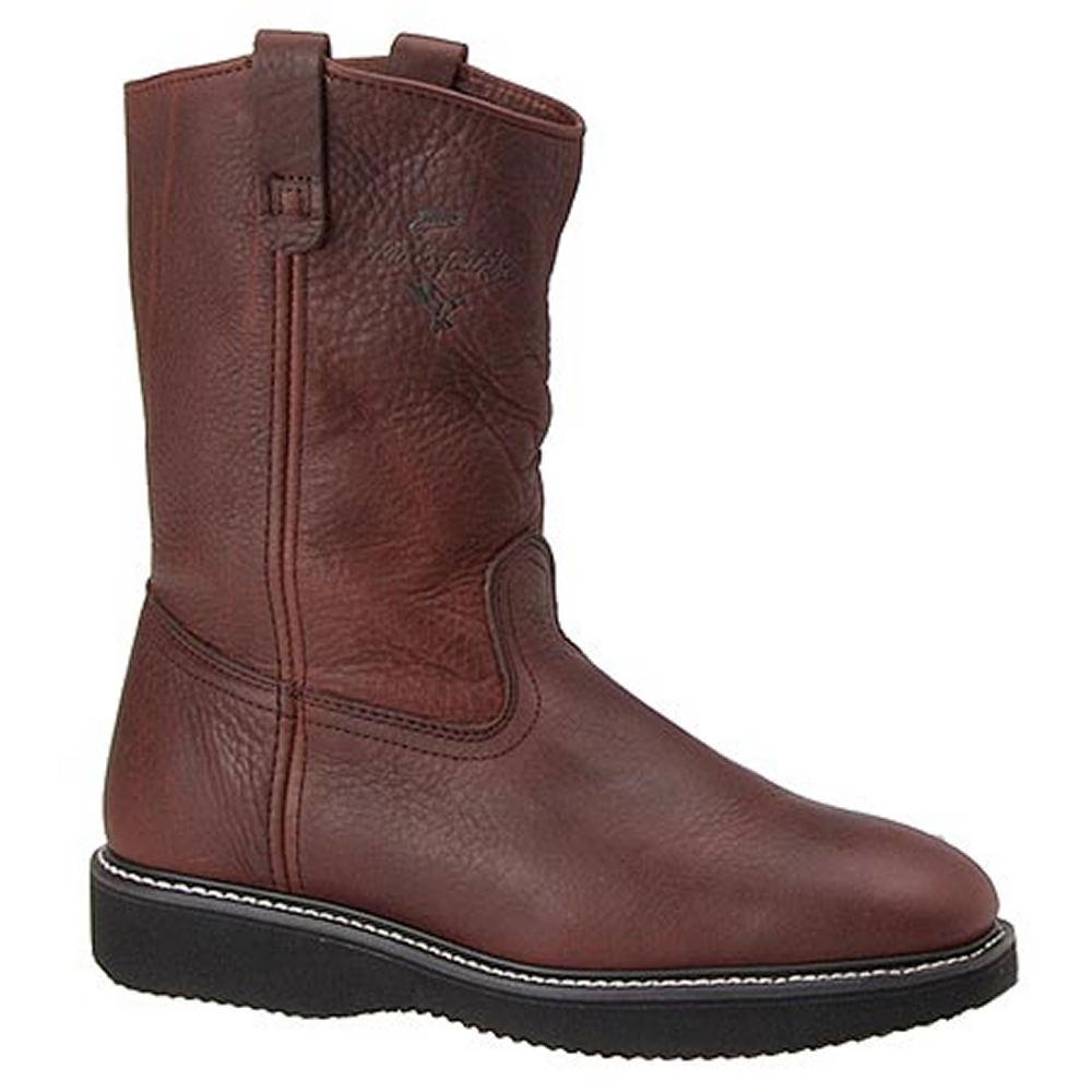 "Fin & Feather Men's 10"" Wellington Brown Boot 6 E2"