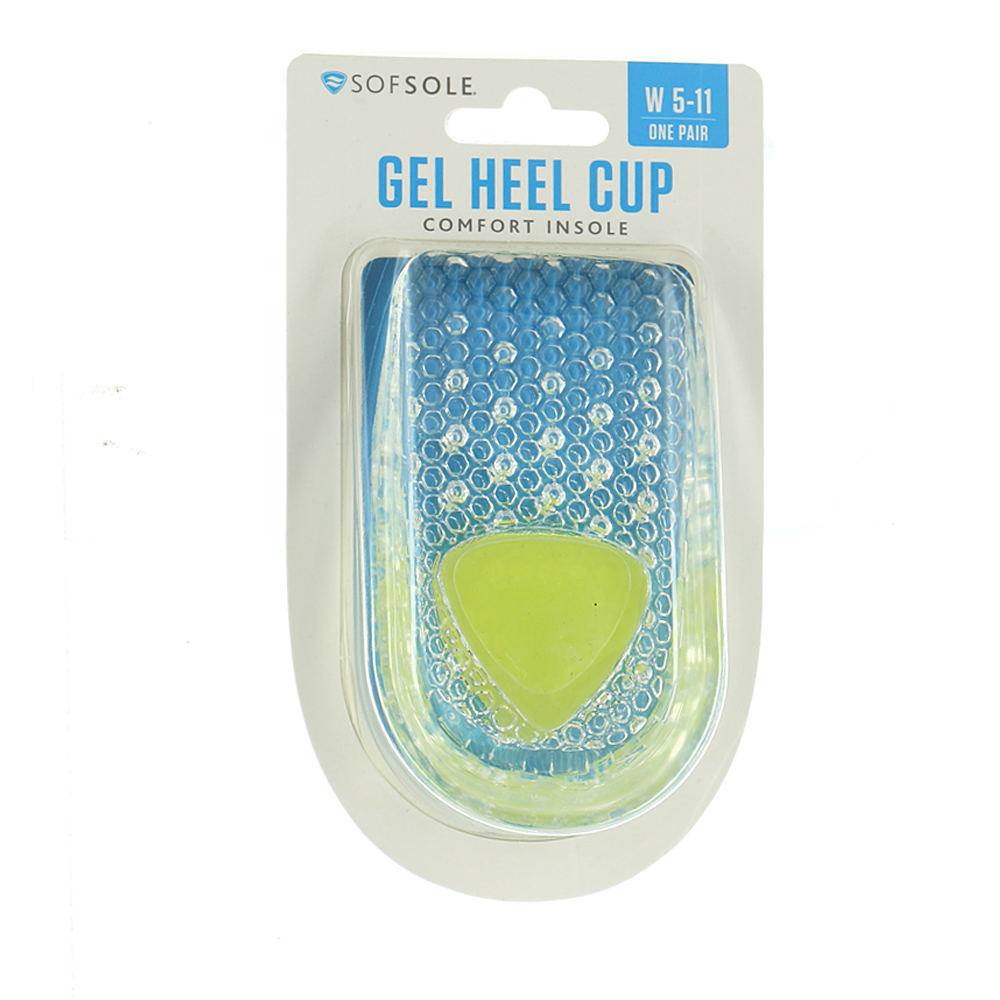 Sof Sole Women's Gel Heel Cup 199284