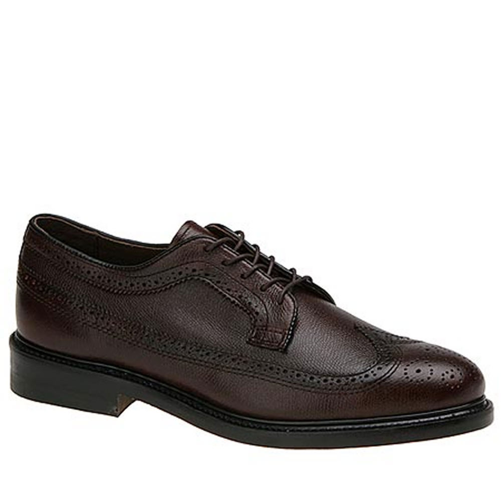 Executive Imperials Men's Wingtip Dress Oxford Brown Oxfo...