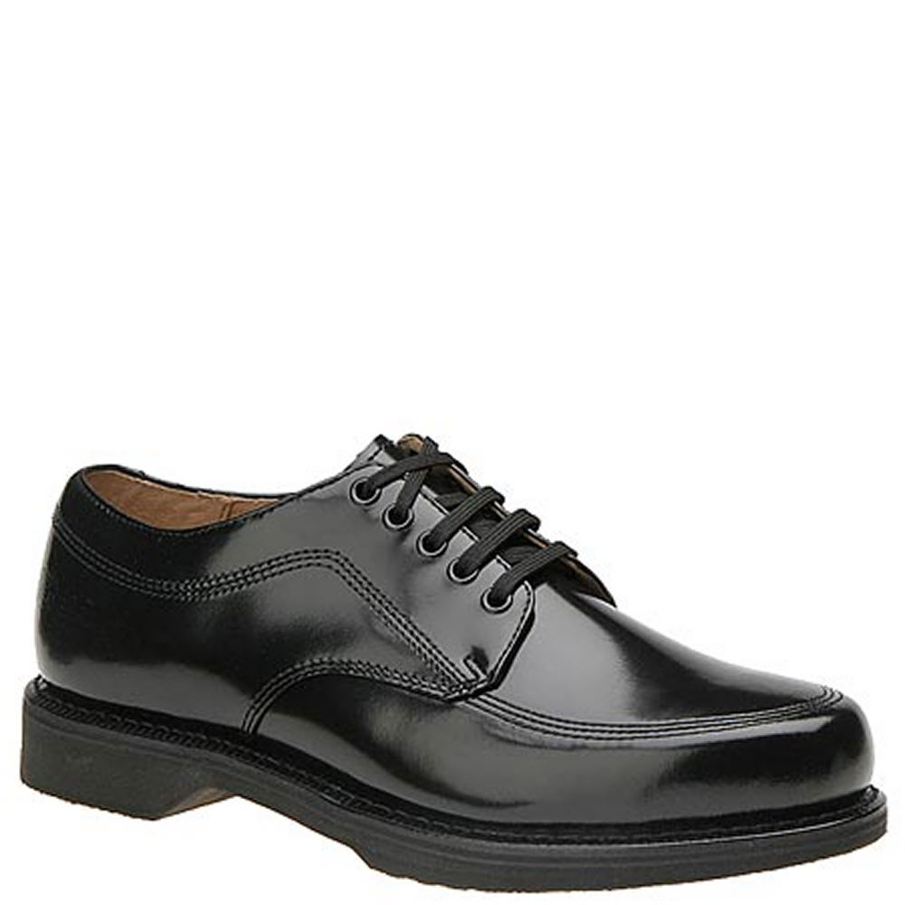 Work America Men's Work Shoe Black Oxford 6 E2