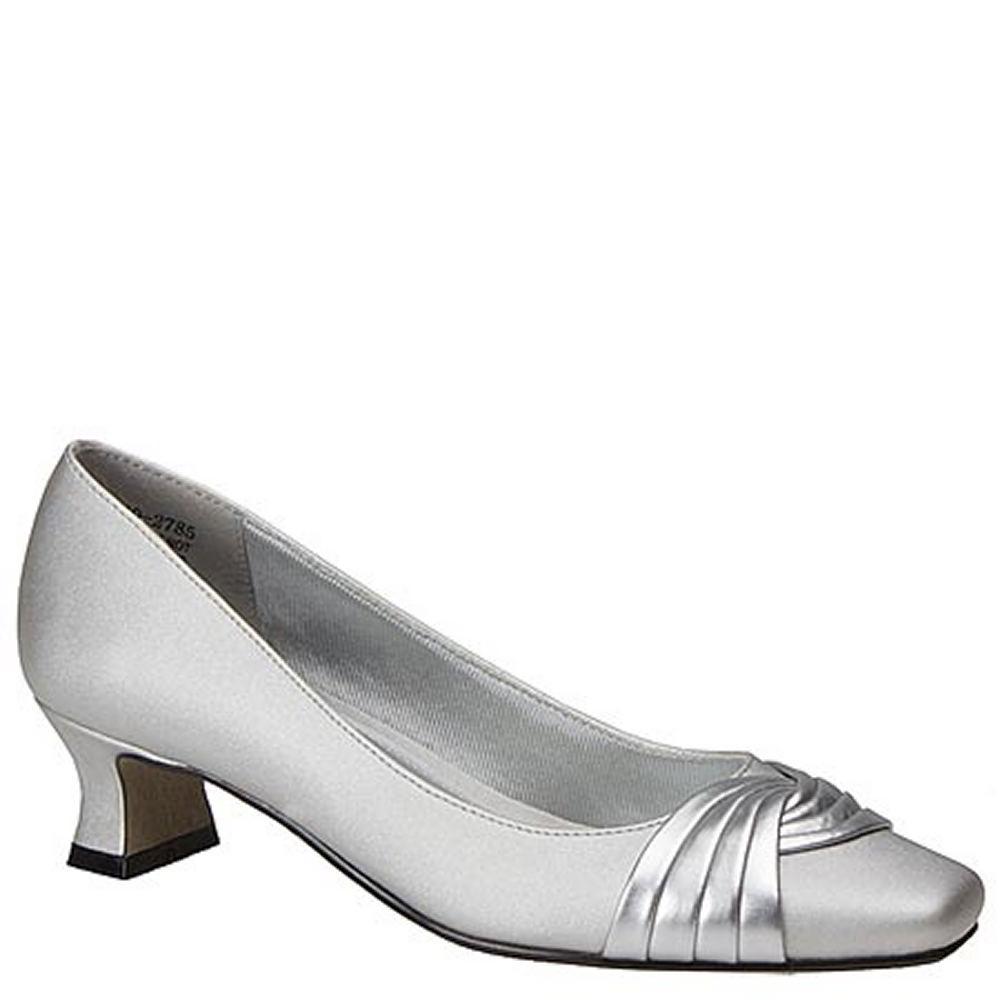 Easy Street Tidal Women's Grey,Silver Pump 10 W2