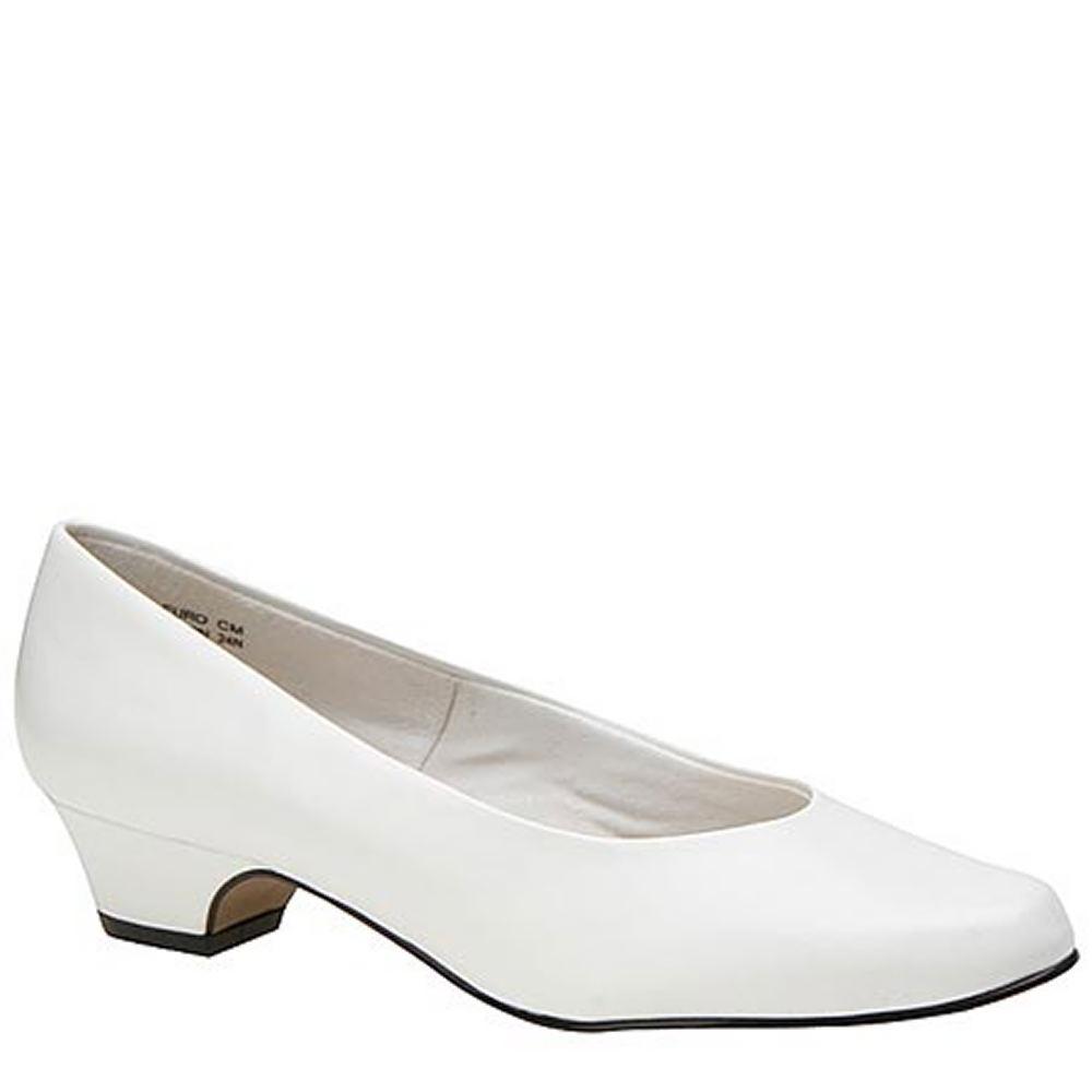 Soft Style Angel II Women's White Pump 9.5 E