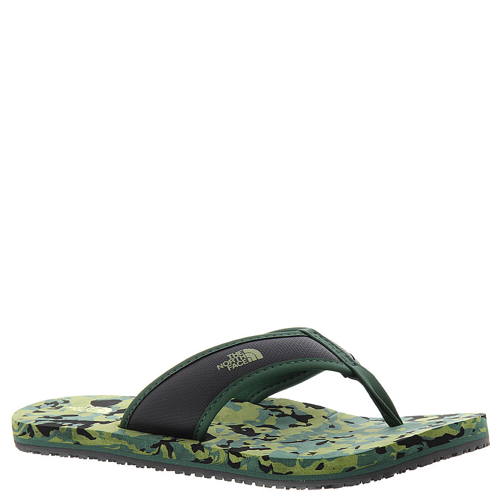 North Face Base Camp Flip Flop Boys' Toddler-Youth Green ...