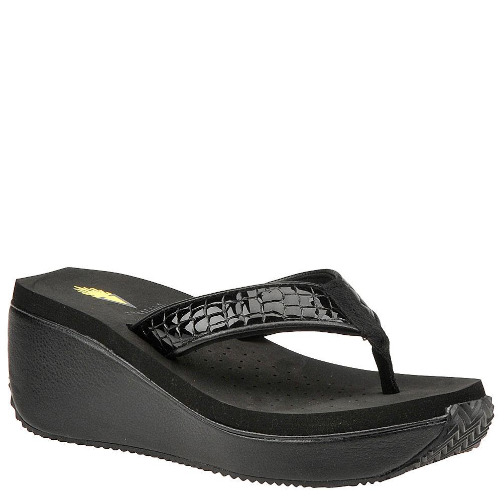 Volatile Bayou Women's Black Sandal 9 M