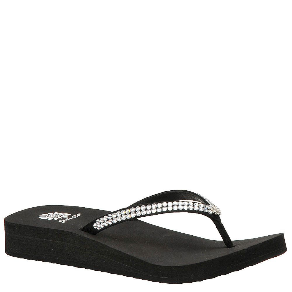 Yellow Box Jello Women's Black Sandal 5.5 M 163170BLK055M