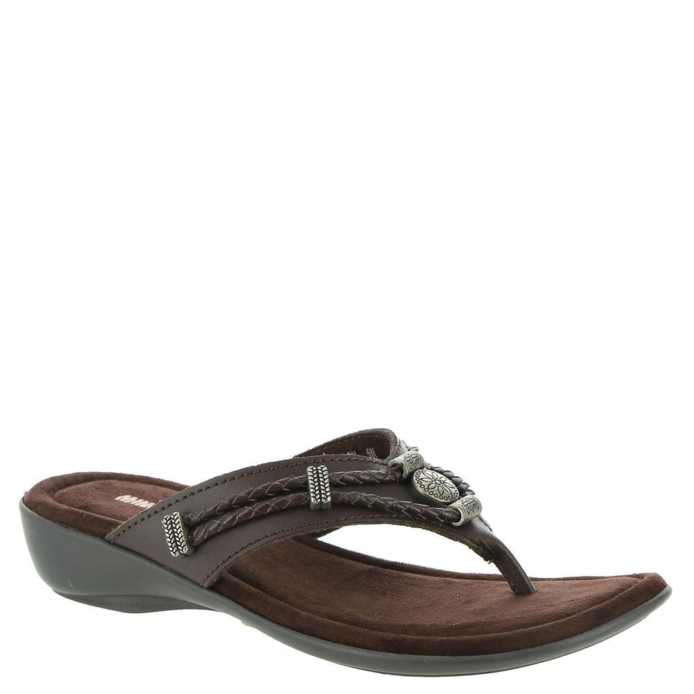 Minnetonka Silverthorne Thong Women's Brown Sandal 12 W2