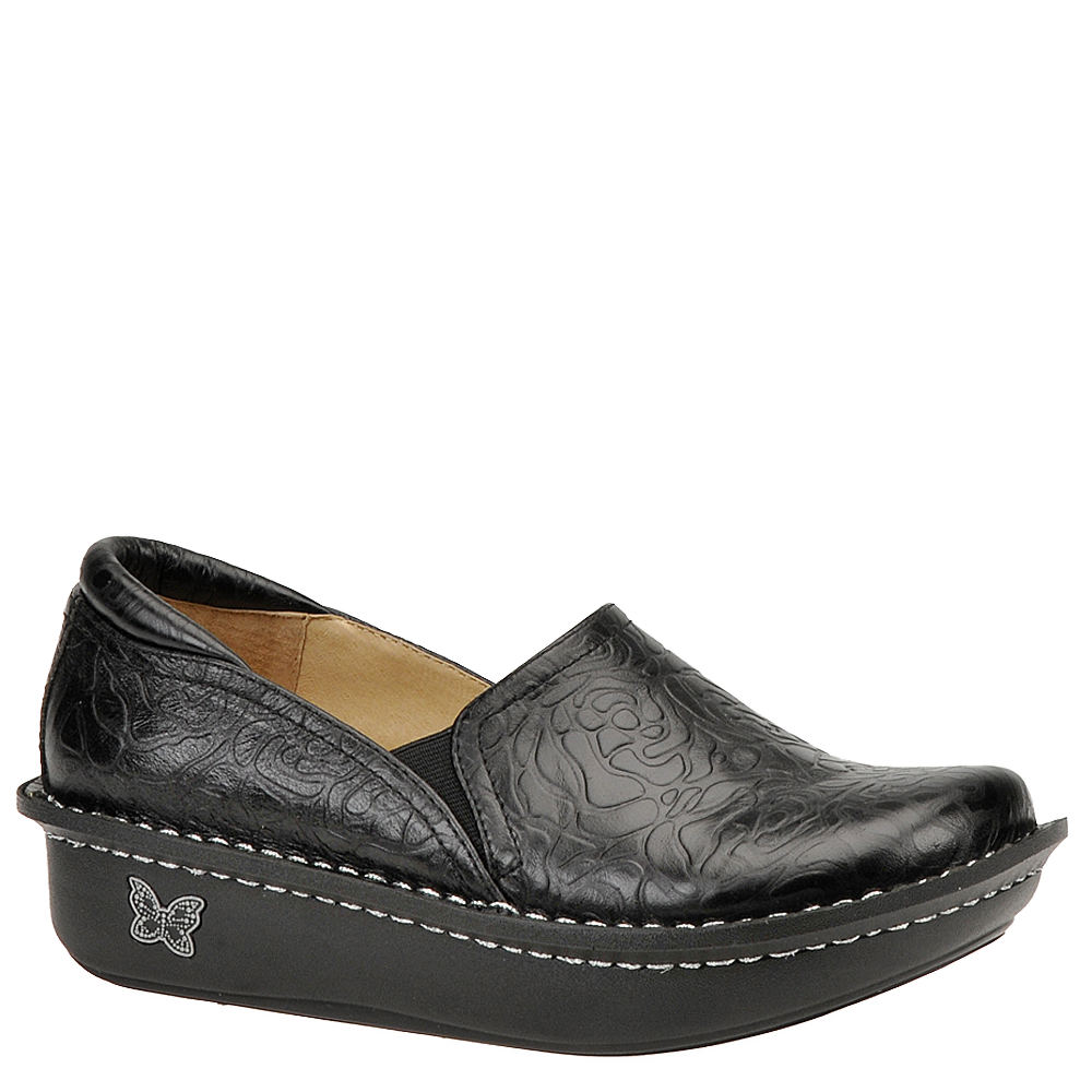 Alegria Debra Women's Black Slip On Euro 38      US 8 - 8...