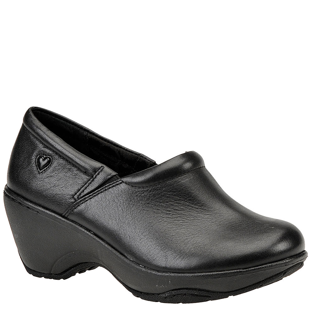 Nurse Mates Bryar Women's Black Slip On 11 W