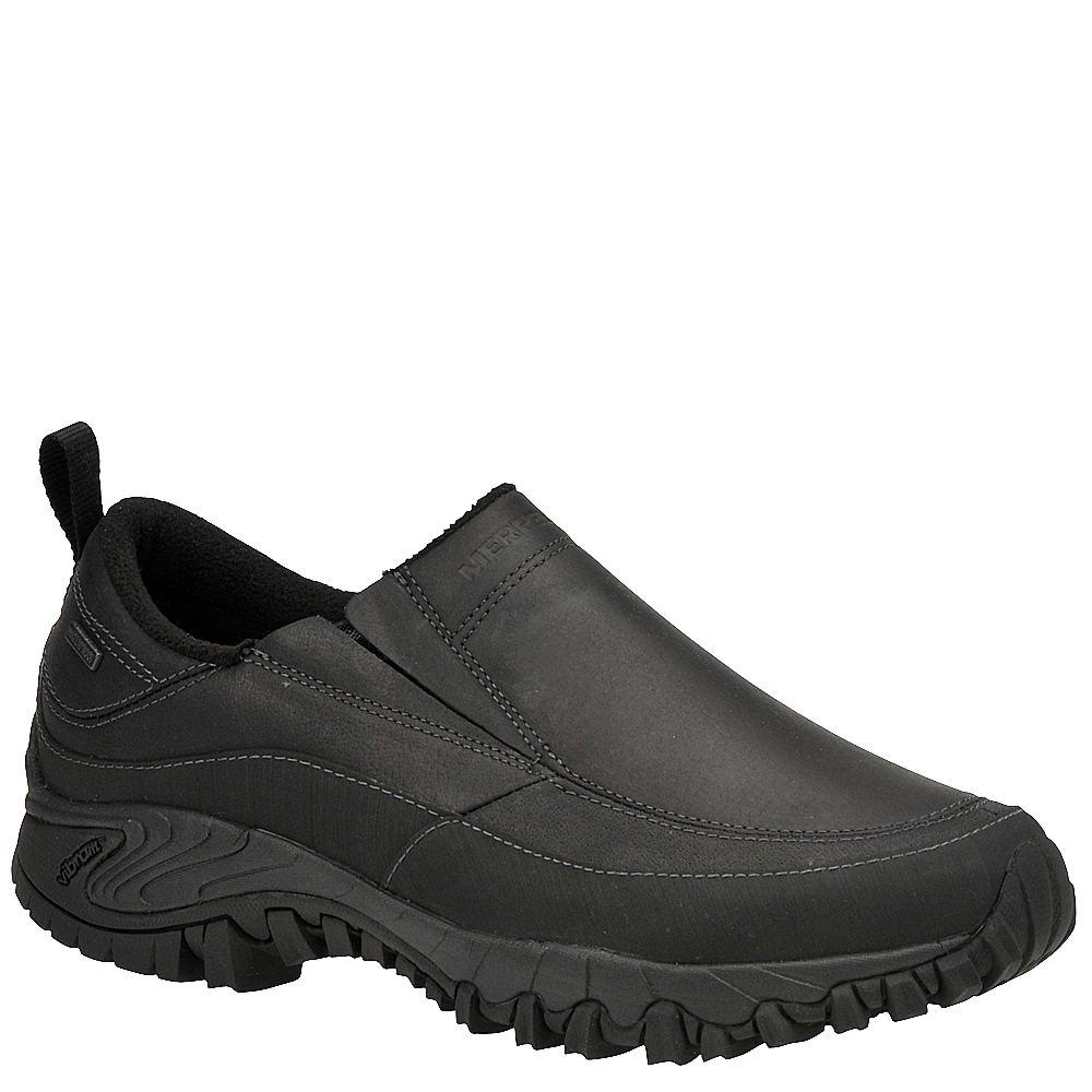 Merrell Men's Shiver Moc 2 Waterproof Slip-On Black Slip ...