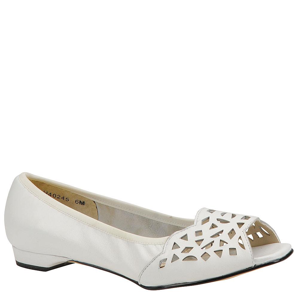 Mark Lemp Classics Women's Mercy White Slip On 13 N