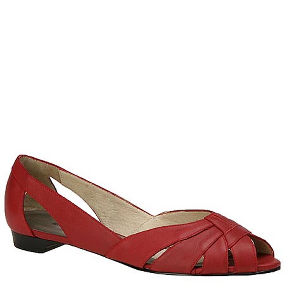 Mark Lemp Classics Women's Zuzu Red Slip On 10 B