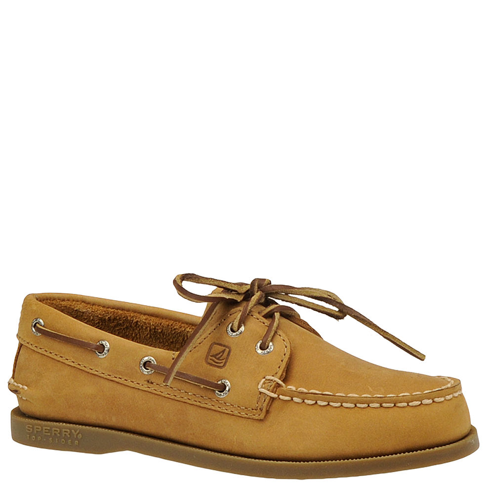 Sperry Top-Sider A/O Kids Toddler-Youth Brown Slip On 12....
