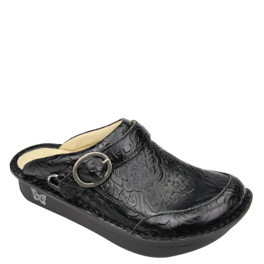 Alegria Seville Women's Black Slip On Euro 35      US 5 -...
