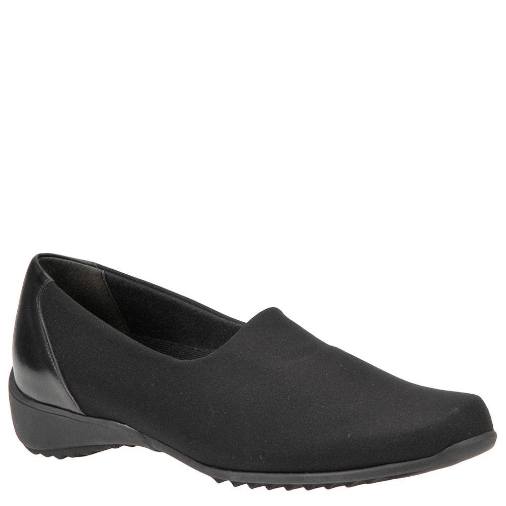 MUNRO Traveler Women's Black Slip On 12 N