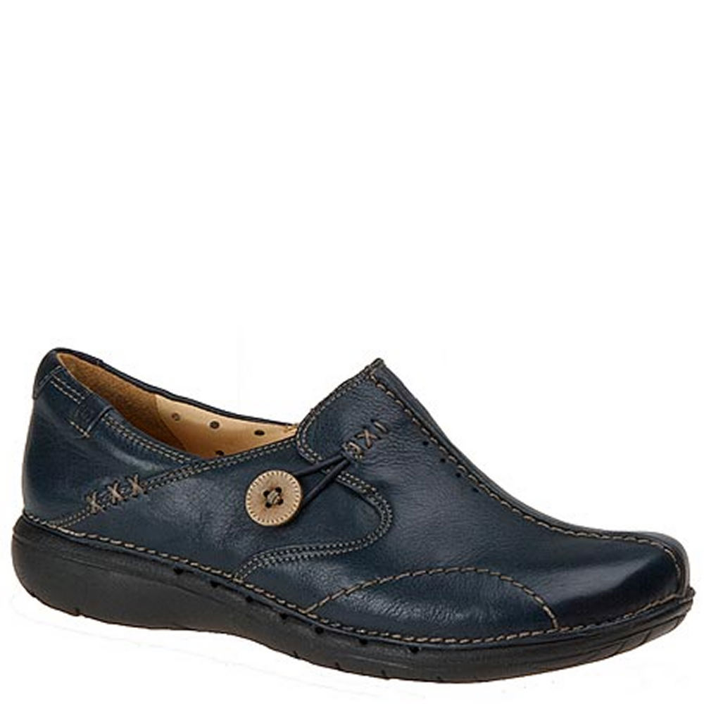 Clarks UN LOOP Women's Blue,Navy Slip On 7.5 N
