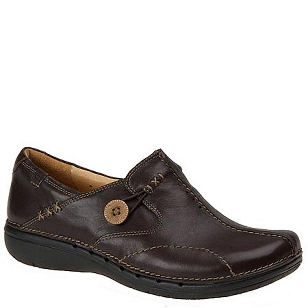 Clarks UN LOOP Women's Brown Slip On 8 N