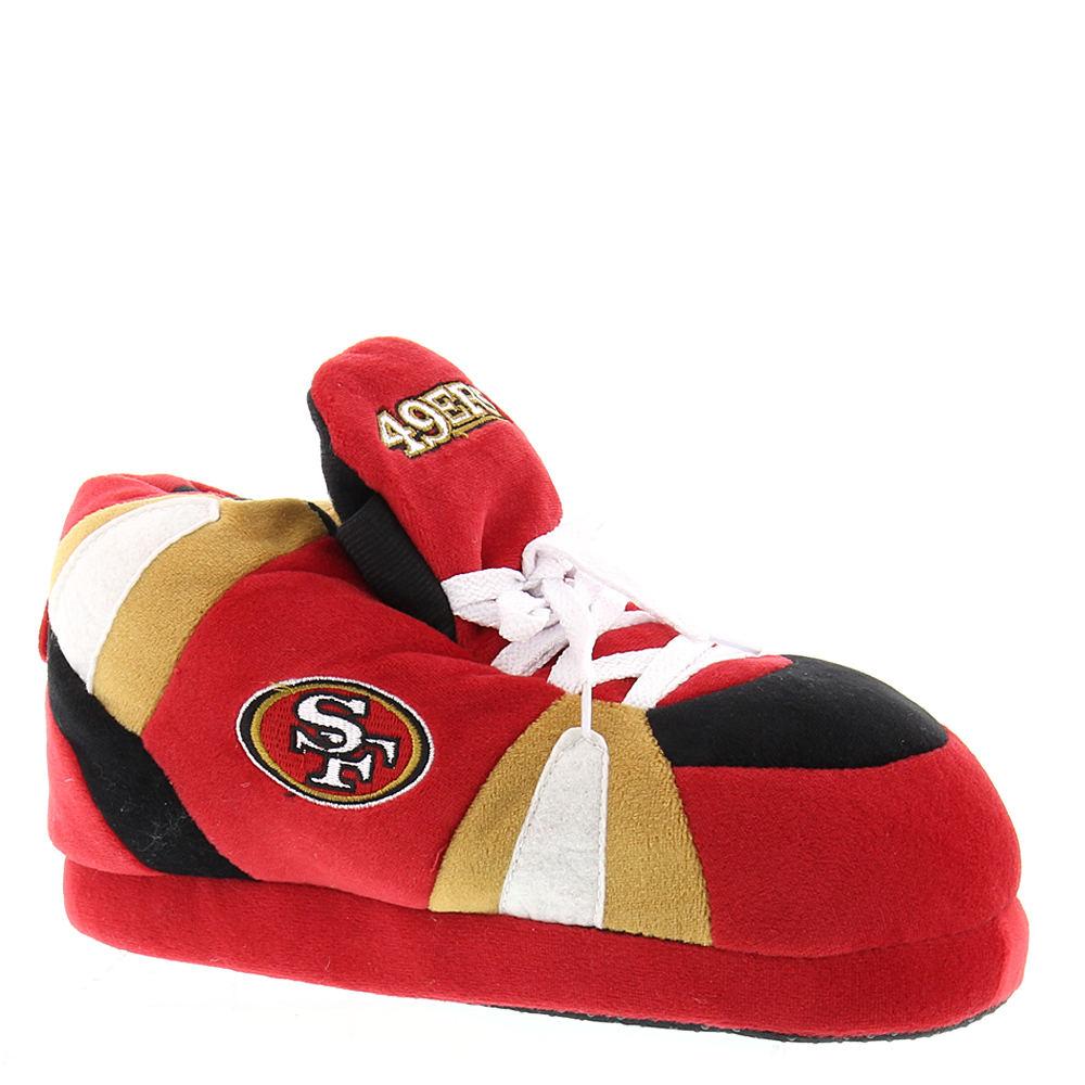 Happy Feet 49ers NFL Red Slipper S M
