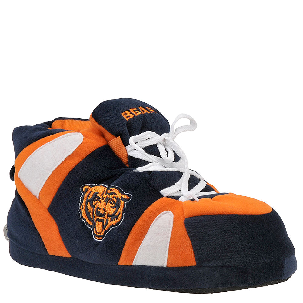 Happy Feet Chicago Bears NFL Blue,Navy Slipper S M