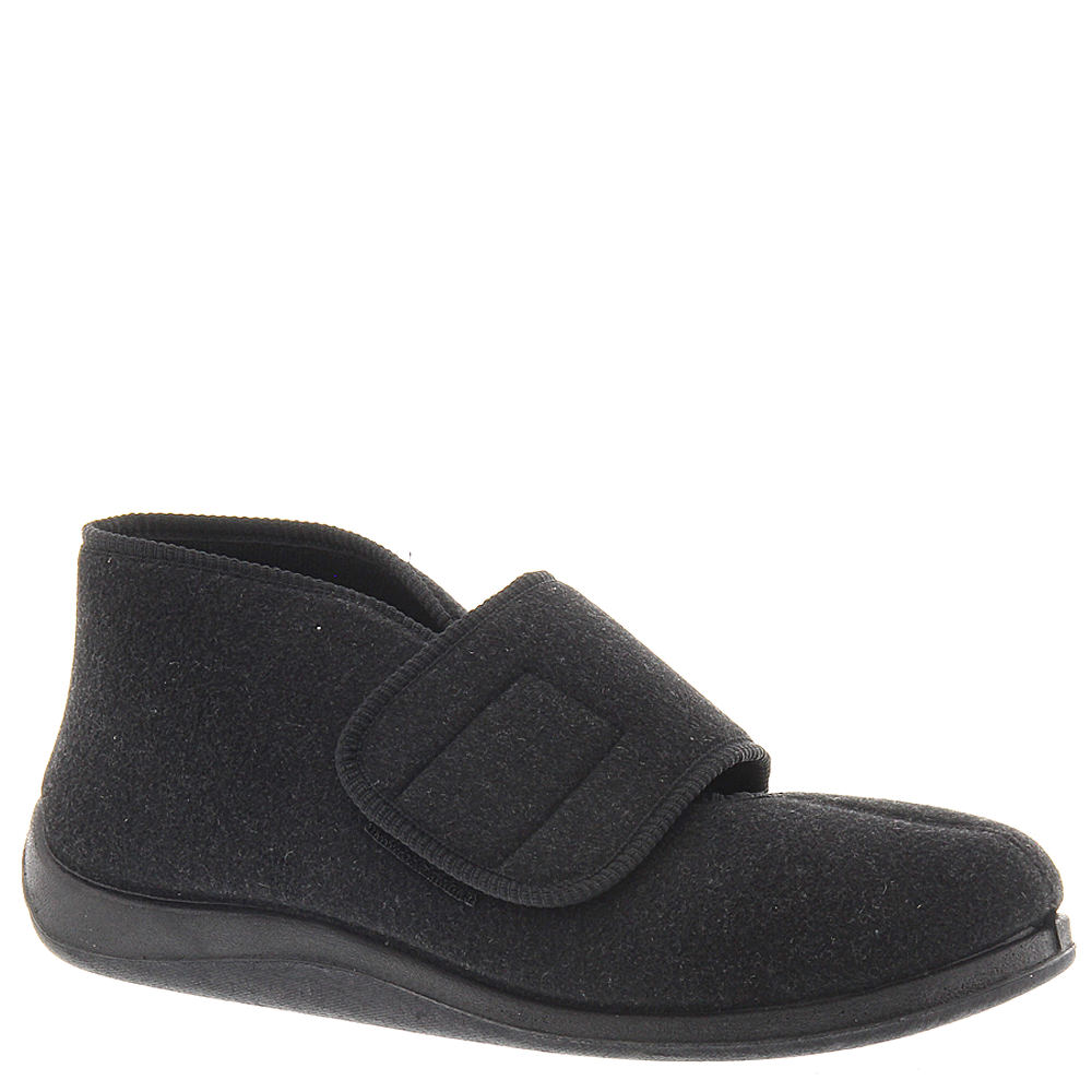 FoamTreads Men's Tradition Black Slipper 7.5 M