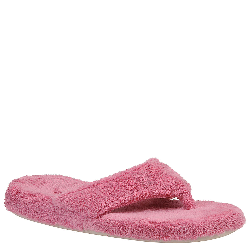 Acorn Womens New Spa Thong Slippers Azalea, Size: Small (5/6) - A10454AZLWS