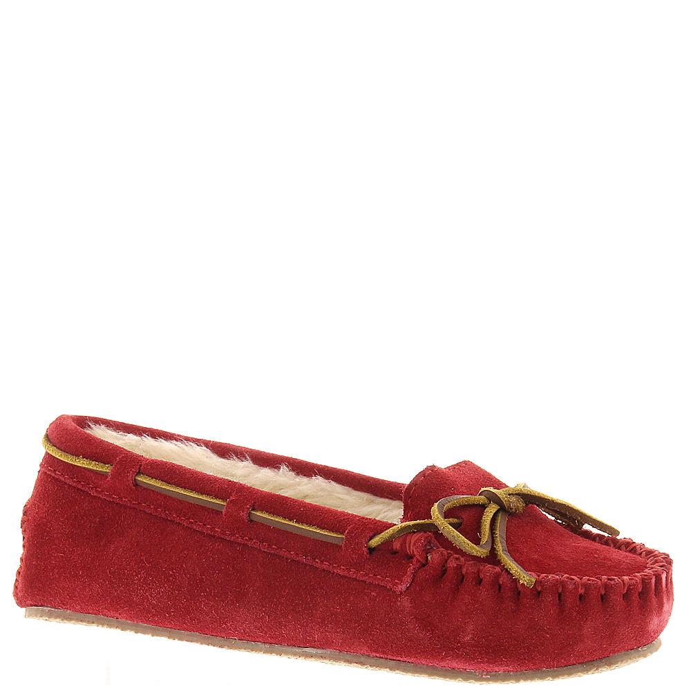 Minnetonka Cally Slipper Women's Red Slipper 6 M