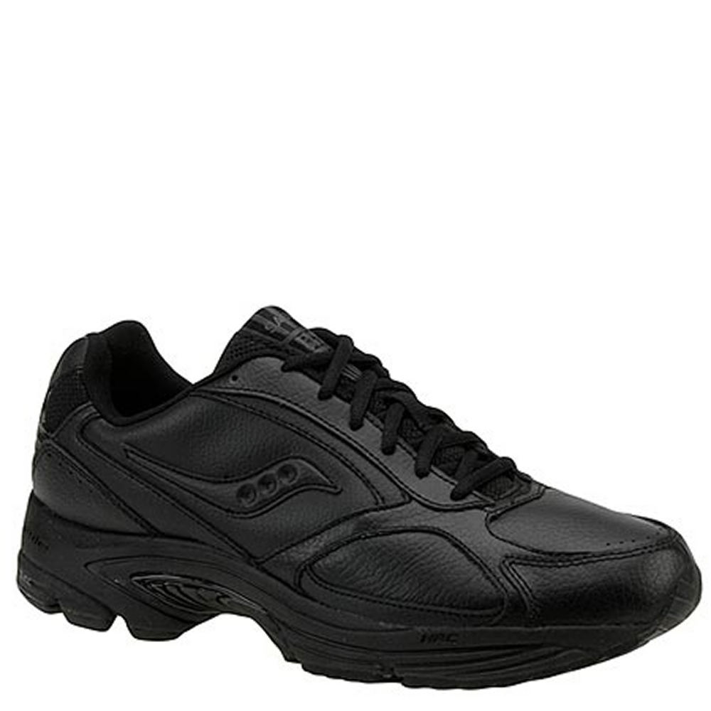 Saucony Men's Grid Omni Walker Walking Shoe Black Walking...