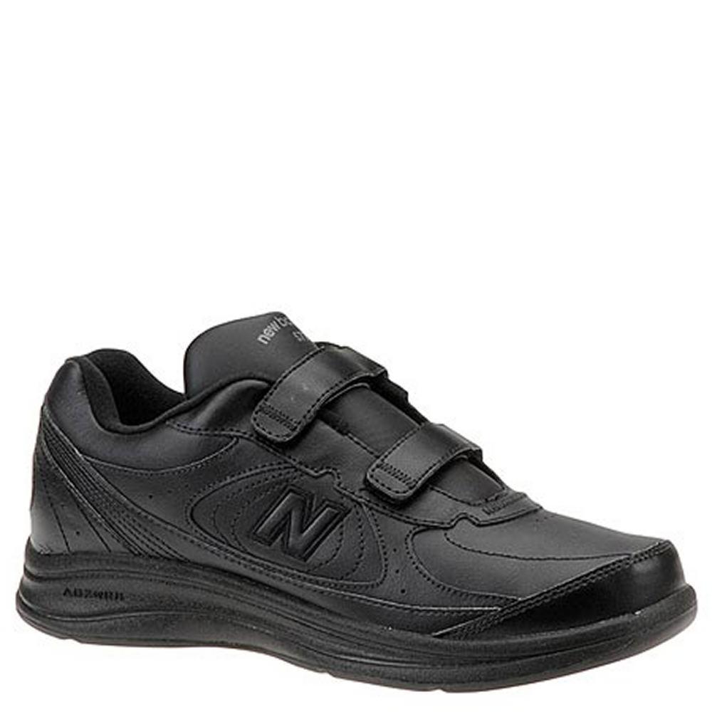 New Balance Men's MW577 Hook and Loop Walking Shoe Black ...