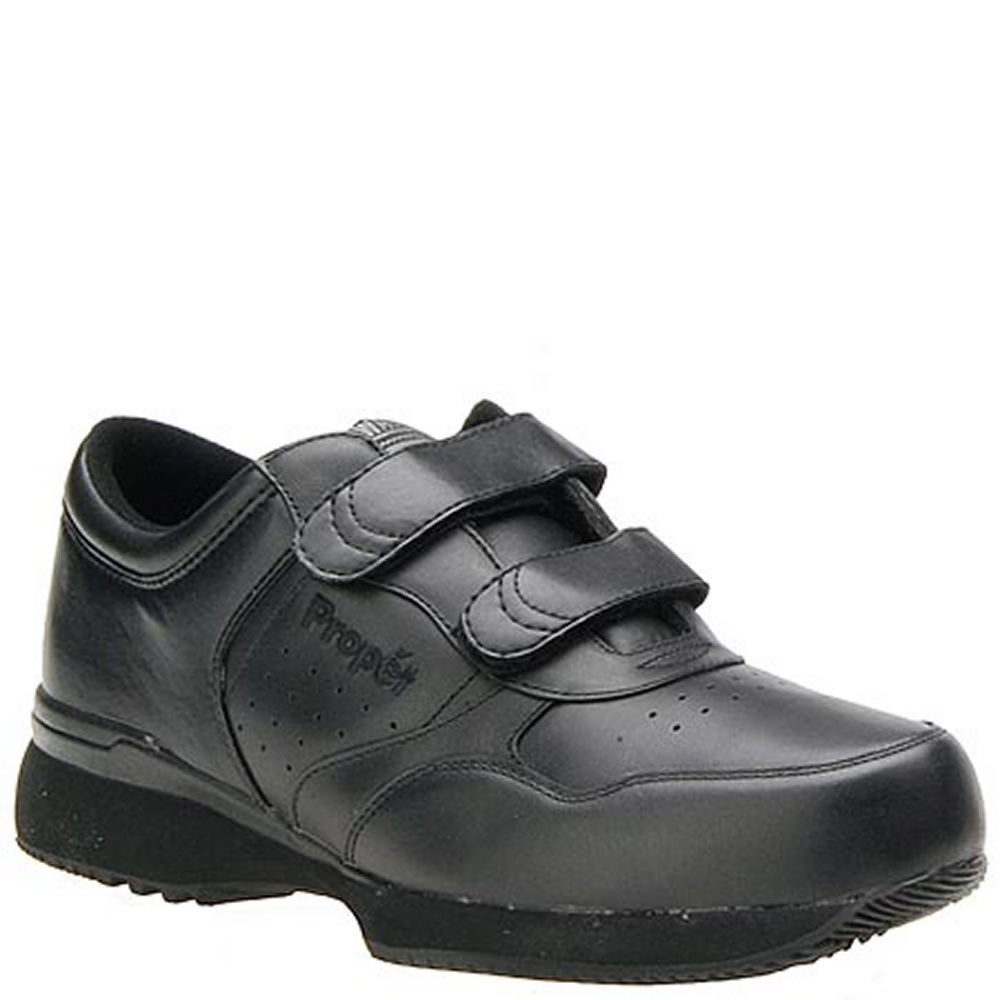 Propét Men's Life Walker Shoe Black Walking 7 D