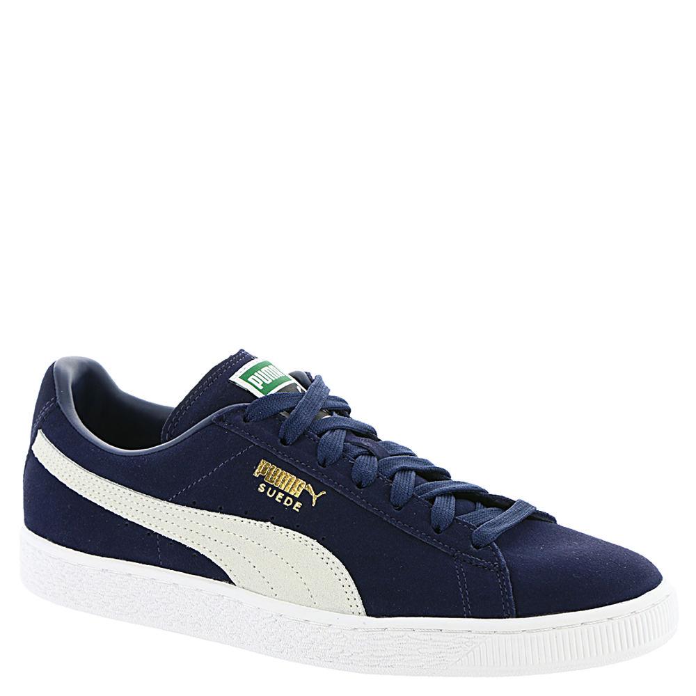 PUMA SUEDE CLASSIC+ Men's Blue Sneaker 11.5 M 647443PCT115M