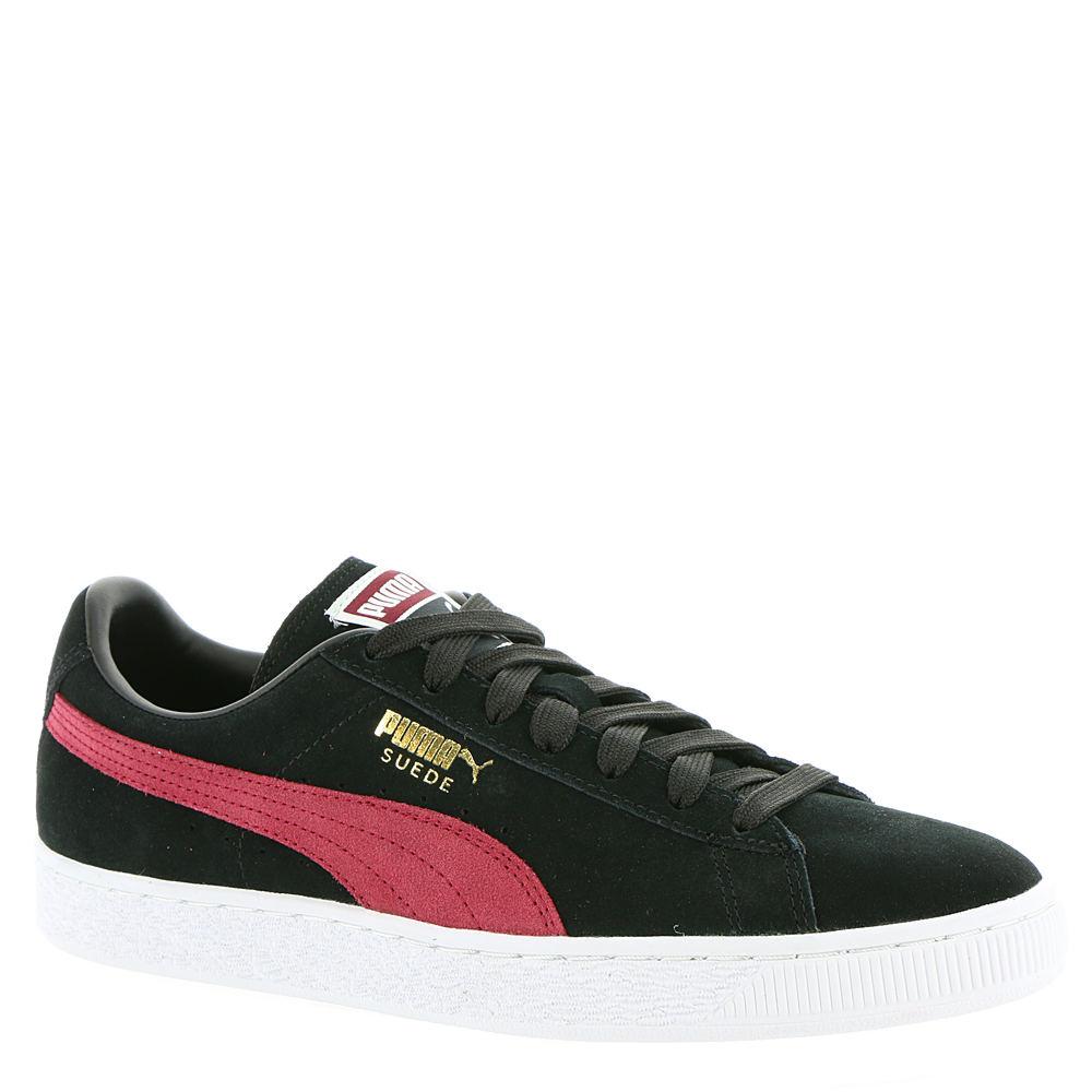 PUMA SUEDE CLASSIC+ Men's Black Sneaker 8.5 M 651507BLK085M