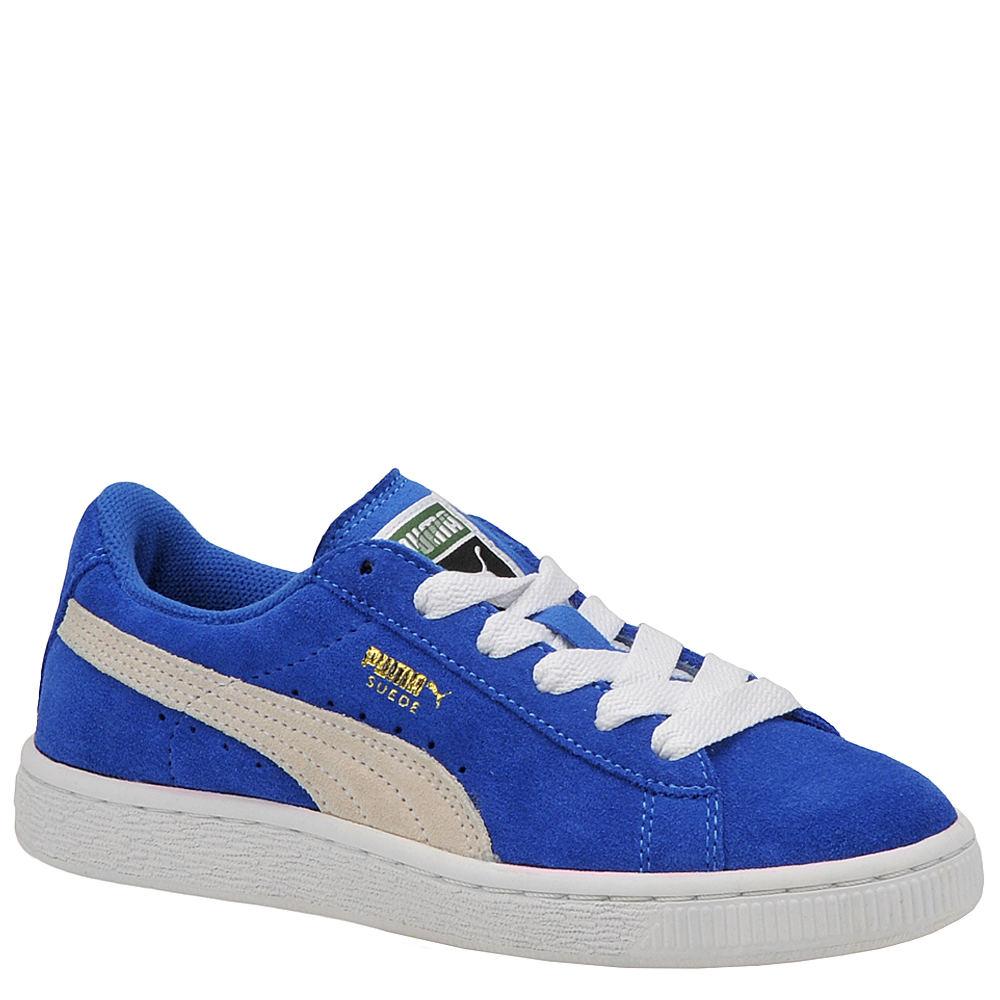PUMA Suede Jr Boys' Toddler-Youth Blue Sneaker 11.5 Toddler M 810298BLU115M