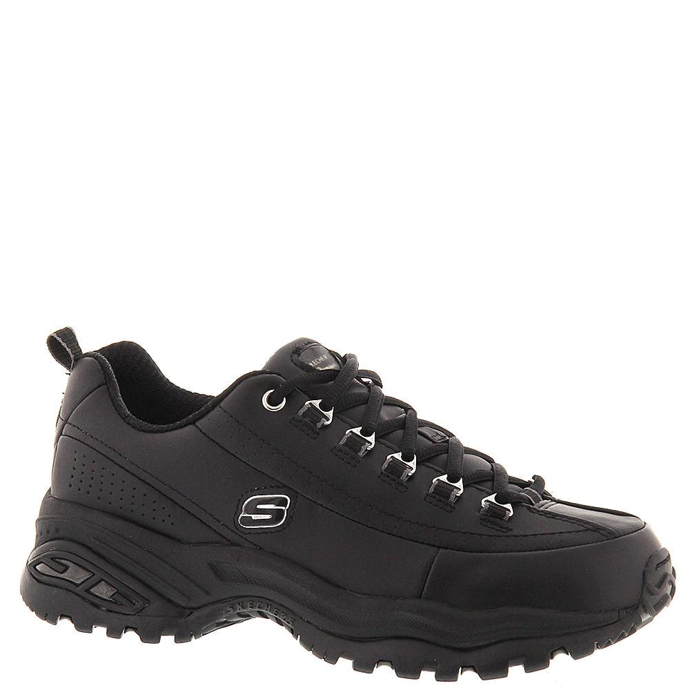 Skechers Women's Premium Sport Shoe Black Sneaker 6 B