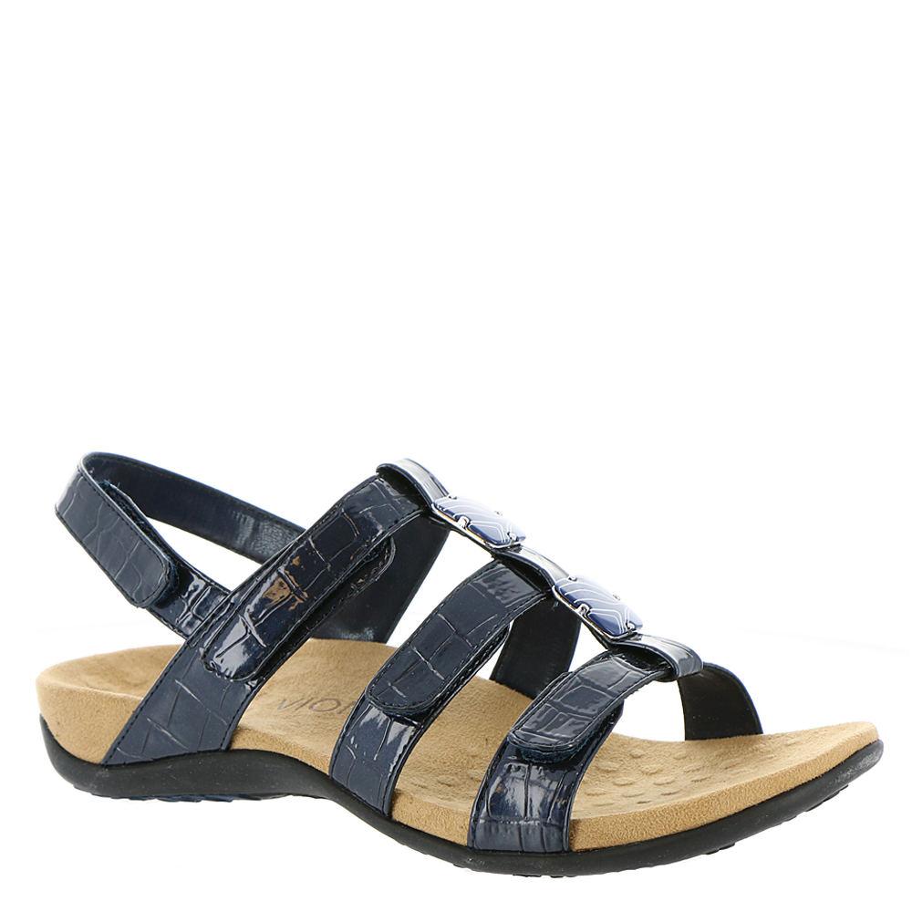 Vionic with Orthaheel Amber Women's Navy Sandal 11 W