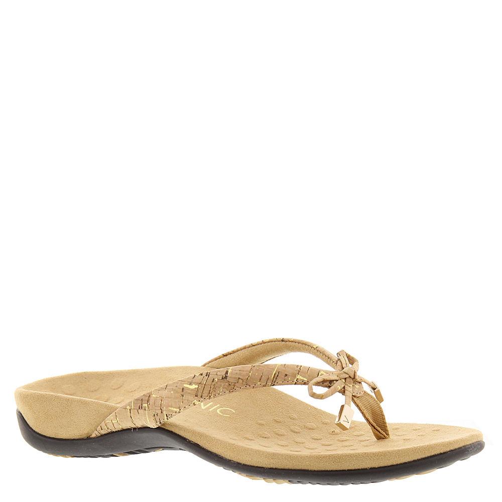 Vionic with Orthaheel Bella II Women's Gold Sandal 6 M