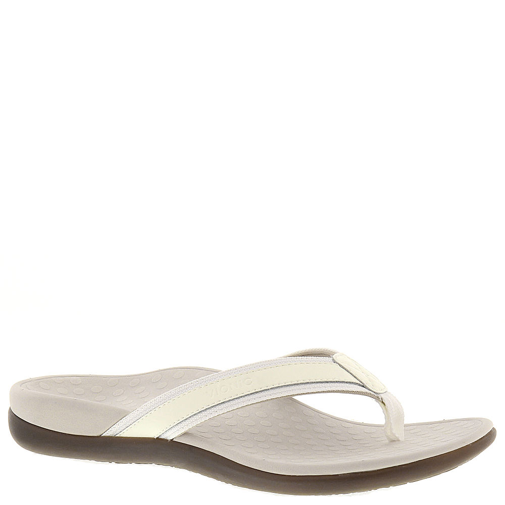 Vionic with Orthaheel Tide II Women's White Sandal 7 M