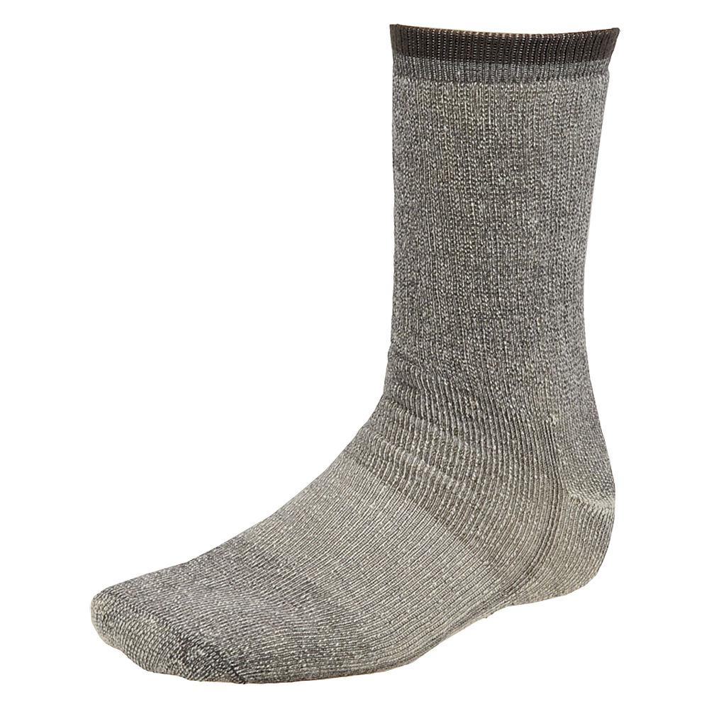 Wigwam Wool Merino Comfort Hiker 2 Pack Grey Socks L 634219CHRLRG