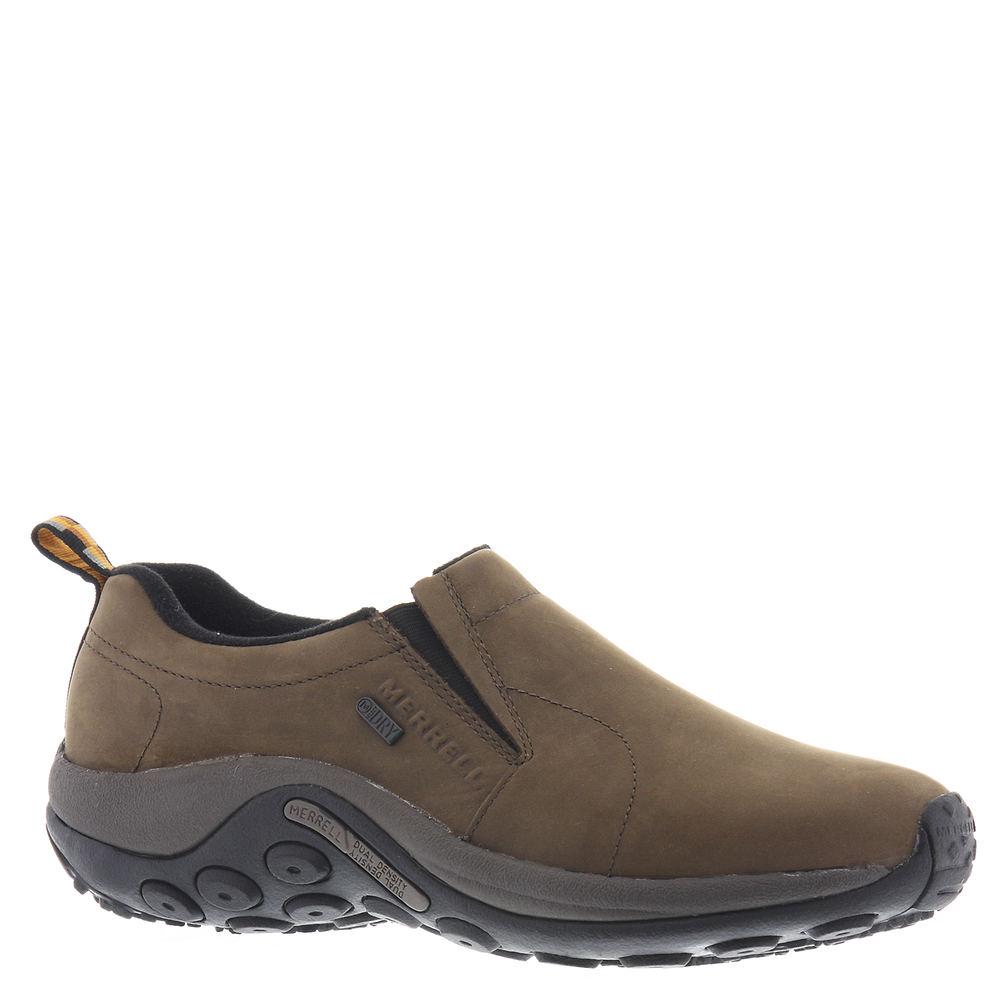Merrell Jungle Moc Nubuck Waterproof Men's Brown Slip On ...