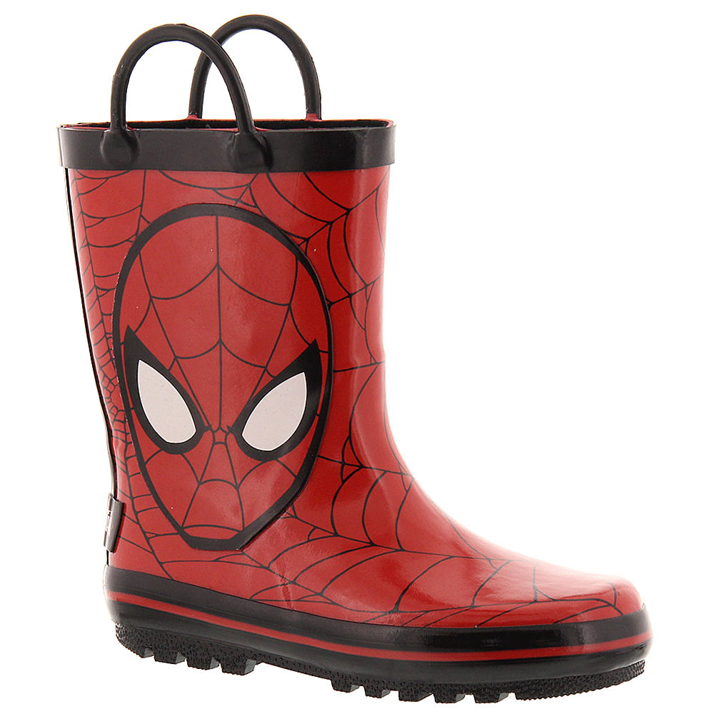 Marvel Spiderman Rainboot (Boys' Toddler) 812545RED070M